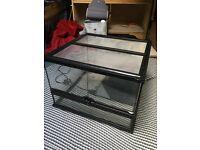 Exo Terra Vivarium 45x45x30cm (with heat mat)