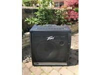 Peavy KB4 3-channel keyboard / guitar stage amplifier. Portable PA speaker + Amp. Like KB5!