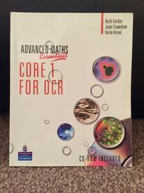OCR CORE 1 textbook