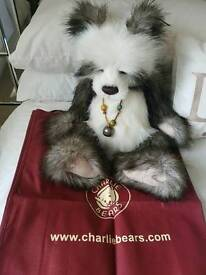 "20"" Shaun Charlie Bear ( Retired 2010 and Very rare )"