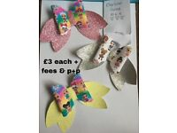 Handmade lol doll theme hairbows and hairbands