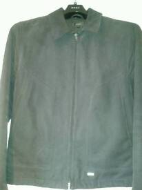 Men's NEXT Medium dark blue zip up Jacket