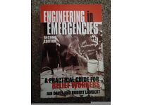 Engineering in Emergencies 2nd Edition, paperback. Cost £30 new.