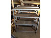 Stackable Metal Shelving Units
