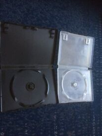 2 spare DVD boxes