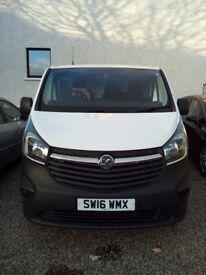 Vauxhall Vivaro van for sale almost new
