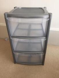 Plastic drawers