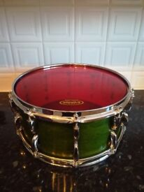 4 Piece Green Pearl Masters Custom Maple Shell Drum Kit