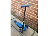 Y glider deluxe scooter