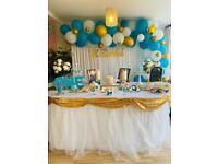 Party decorator/balloon decor/event decor/backdrop/affordable/lowest price/birthday/baby shower
