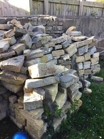 6t of good quality building stone