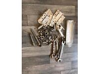 Spanners, hinges, handles, socket set