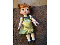 Anna from frozen animator doll