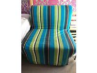 SINGLE CHAIR FOLDING SOFA BEDS (IKEA) bargain!
