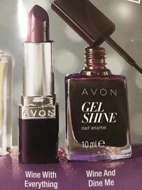Lipstick and nail polish set