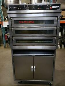 DOYON FOUR A PIZZA  PIZ-3 Pizza OVEN Convection   *** GAZ  **** GAS