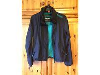 Superdry Jacket – Child's Size Large- Black - Green Superdry Branding