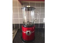 Morphy Richards Red Accents Table Blenders. Barely Used. Great condition
