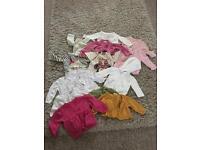 3-6 Months Old Bundle of Jumpers & Cardigans
