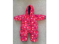 Columbia brand girls snowsuit