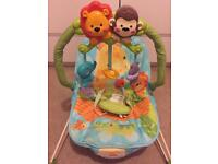 Fisher Price calming vibrations baby bounce chair