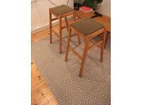 4 x kitchen stools (mid century)