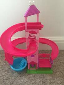 Barbie water slide very good condition