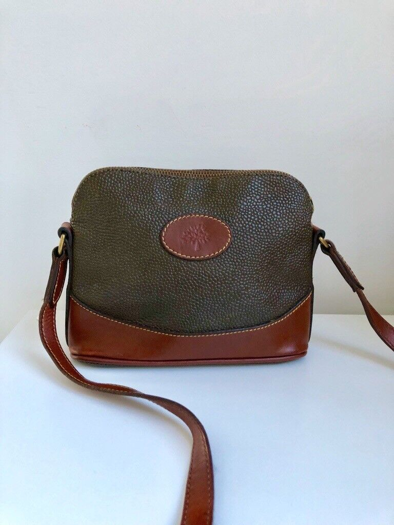 30f08e3612 ... coupon genuine vintage small mulberry crossbody bag brown 508f4 9e6fc  uk buymulberry amberley small classic grain leather ...