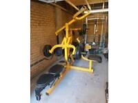 Powertec work bench leverage gym