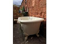 SOLD/GONE Acrylic free-standing roll top bath - FREE