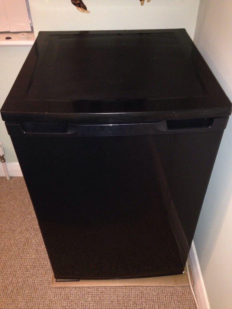 Black larder fridge
