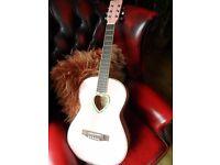 Junior Nevada Acoustic Guitar - PINK