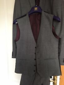Next suit. 3 Piece exc cond worn once