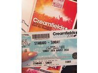 X2 Sunday Creamfieds Tickets