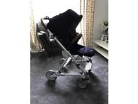 Mamas and Papas Urbo 2 Pushchair Navy blue and Tan