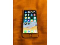 iPhone 7 32 GB unlocked.Gold. PLEASE READ. Home button,ear speaker and selfie camera not working