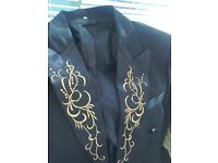 Mens Suit with tails, for Ballroom dancing, or fancy dress