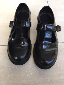 Girls clarks school shoes size 13G