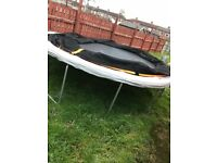 Trampoline 12ft with netting