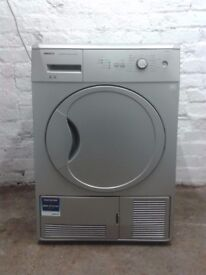 55 Beko DCU6130S 6kg Silver Condenser SensorTumble Dryer 1 YEAR GUARANTEE FREE DELIVERY