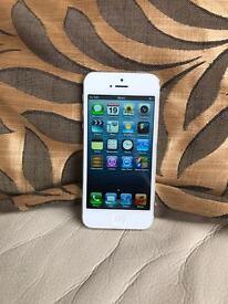 Looks like new iPhone 5 16gb unlocked. iOS 6.