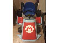 Battery powered Super Mario kart ride on