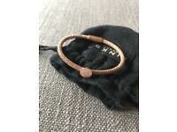 Links of London stardust bangle rose gold
