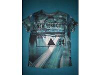 Boys New York T Shirt Age 11-12 Years IP1