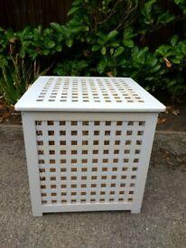 Wooden storage box/bin