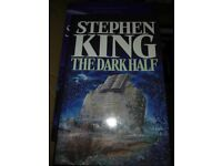 Stephen King Hardback Book The Dark Half - Perfect Condition