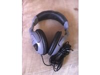Ear Phones, Brand STAGG, SHP-3000, HI-FI, Cable Jack, Gray & Black.