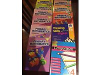 Excellent Primary School Mathematics and English Books - Years 3, 4 and 5