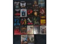 22 Horror movies on dvd - all in excellent condition £10