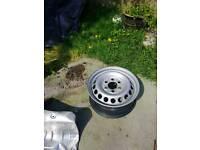 Mercedes sprinter steel wheel